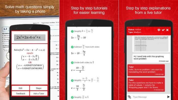 Aplikasi Pemecah Soal Yhomework Math Solver