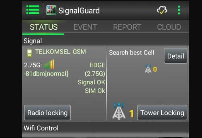 Aplikasi Penguat Sinyal-Signal Guard