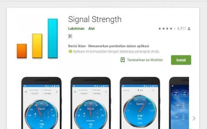 Aplikasi Penguat Sinyal-Signal Strength