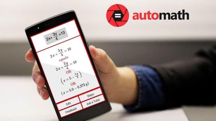 Automath Aplikasi Pemecah Soal Matematika