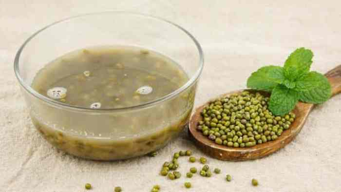 Bubur kacang hijau aroma