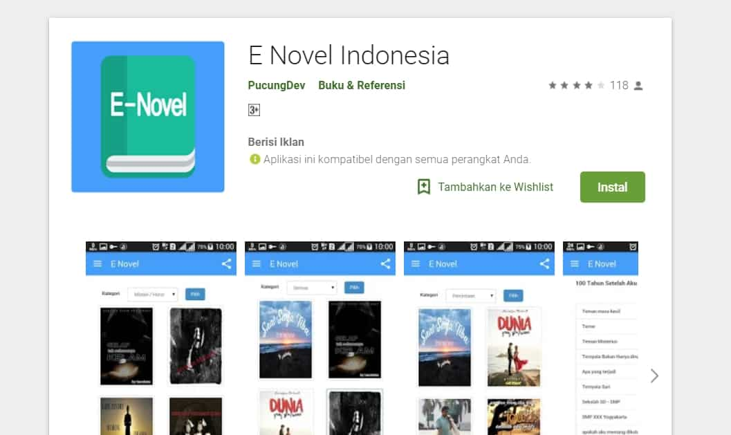 E NOVEL INDONESIA