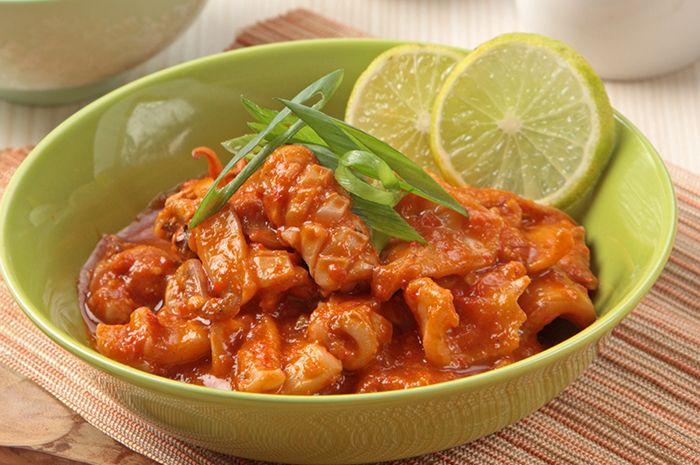 Resep Cumi Saus Padang Super Hot