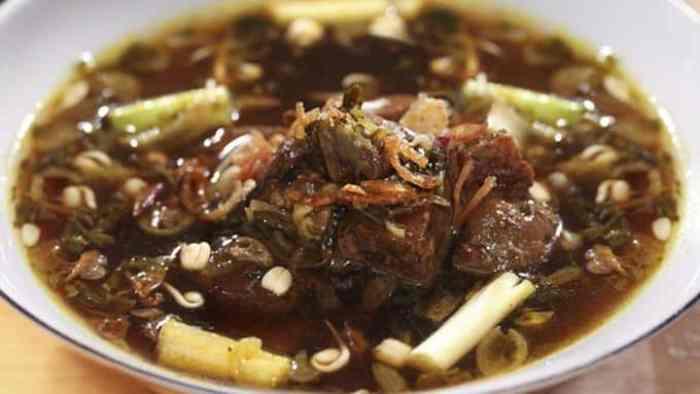 Resep Rawon Daging Campur Labu Siam