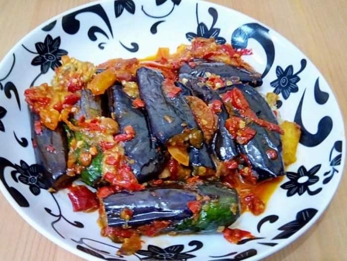 Resep Terong Balado Vegetarian