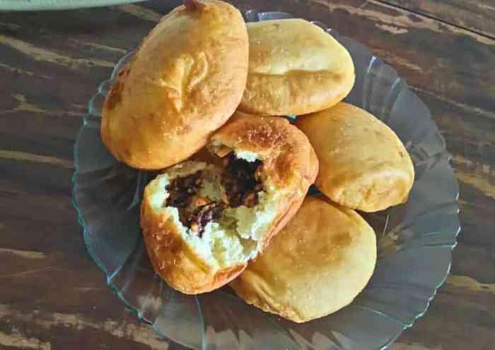 Roti Goreng Isi kacang Hijau
