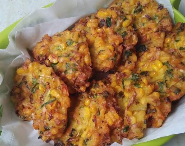 Resep Bakwan Jagung Ayam
