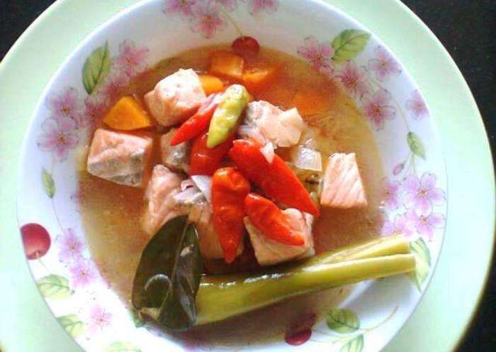 Resep Tom Yam Ikan Salmon