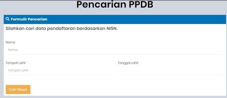 Hasil Seleksi PPDB SMP Kab Semarang 2020 2021.