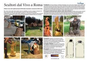 Scultori da vivo a Roma
