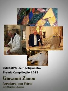 Giovanni Zanon Premio Campidoglio 2013
