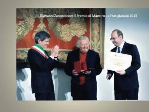 Maestro Giovanni Zanon per il Made in Rome