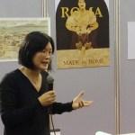 """Wang Yumei al Foro dell'Artigianato Artistico per il """"Made in Rome"""""""