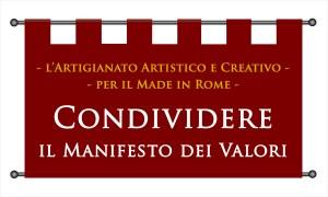 Condividere il Manifesto dei Valori