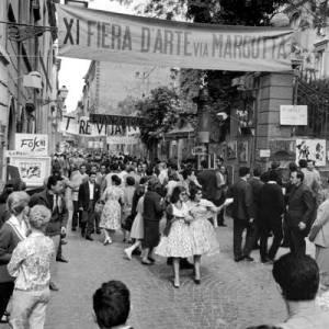 Via Margutta ieri - Primavera dell'Artigianato Romano - Made in Rome open day