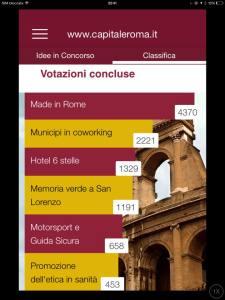 classifica finale casting idee per Roma