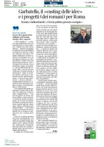 21.04.2015 Garbatella casting_CorriereSeraRoma Made in Rome