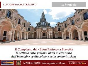 Complesso del Buon Pastore per il Made in Rome