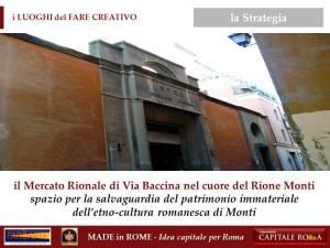 il Mercato di Via Baccina a Monti per il Made in Rome