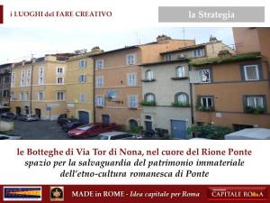le Botteghe di Via Tor di Nona per il Made in Rome