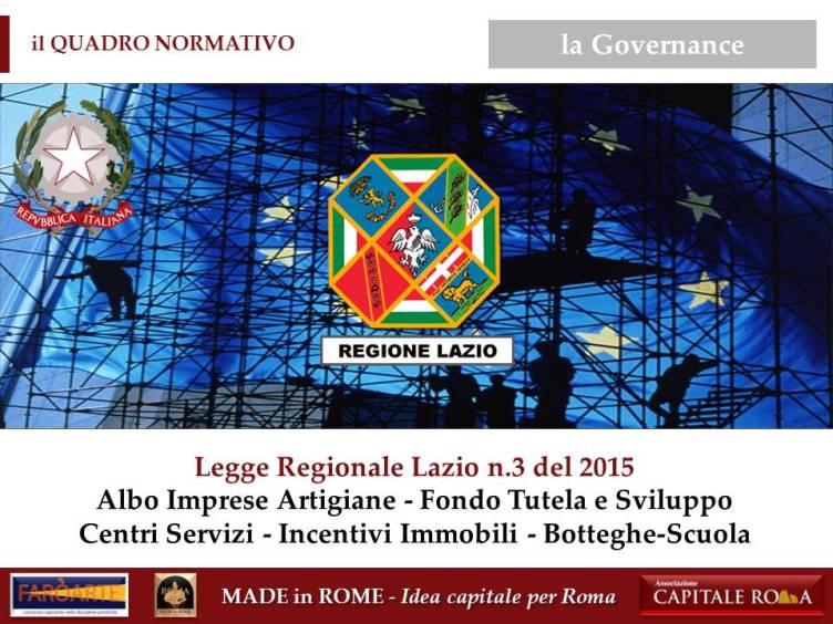 il Quadro Normativo del Made in Rome