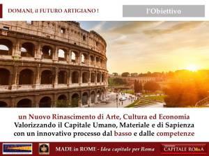 il Futuro Artigiano del Made in Rome