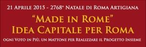 2768° Natale di Roma Artigiana
