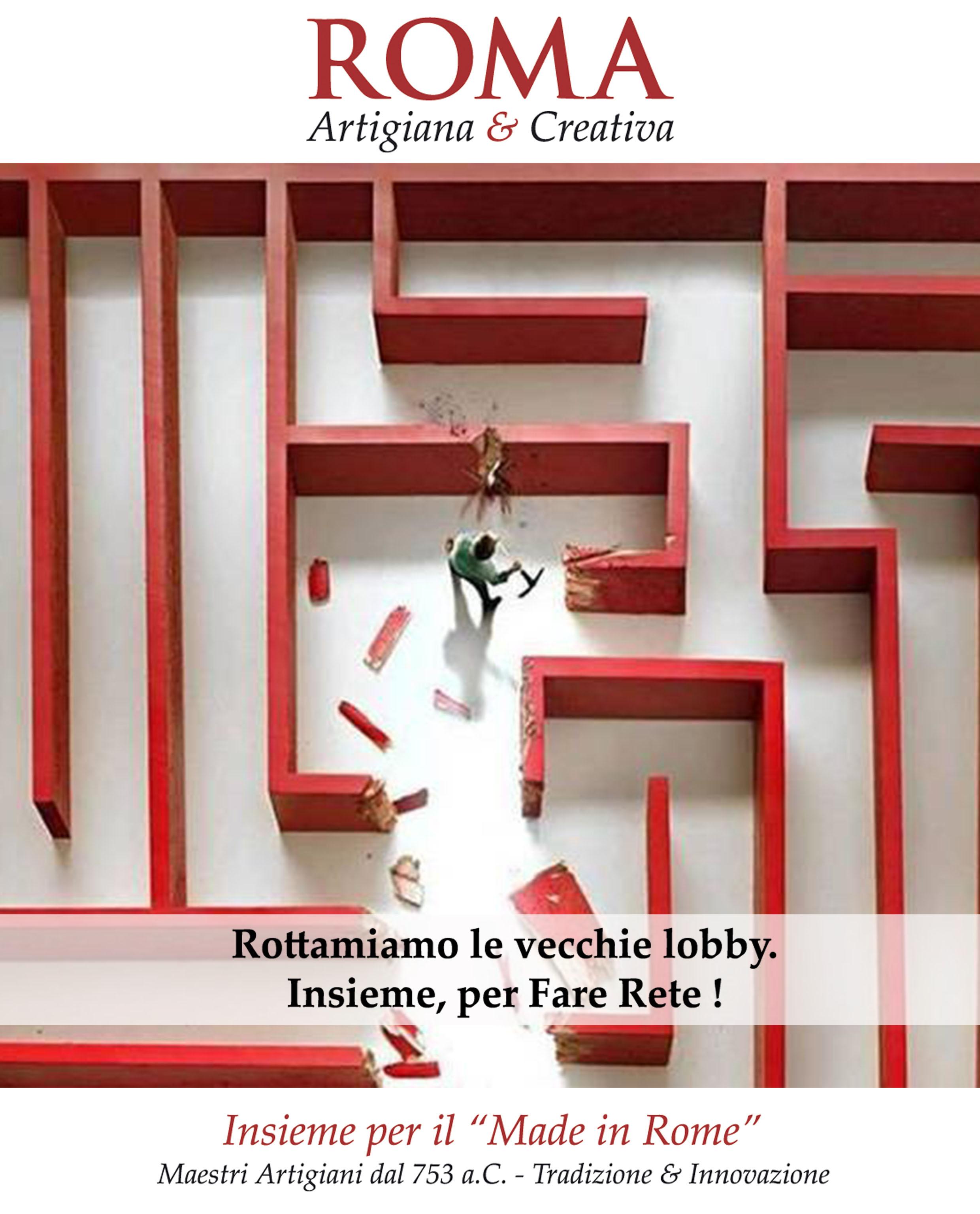 Roma Artigiana & Creativa per il Made in Rome