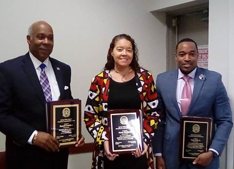 TONEY EARL JR. HONORED AT SPRING VALLEY NAACP'S BLACK HISTORY CELEBRATION