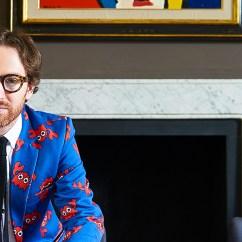 High Back Velvet Chair Uk Medical Recliner Chairs Bright Home Furniture Ideas With Artist & Designer Philip Colbert