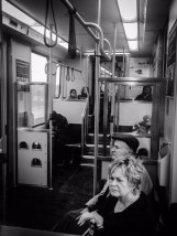 Conversation in the train