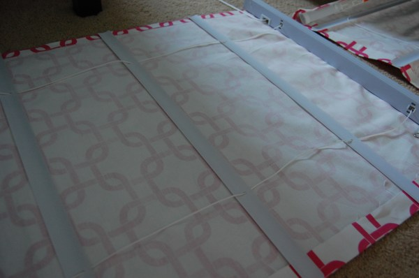 DIY Roman Shades From Blinds