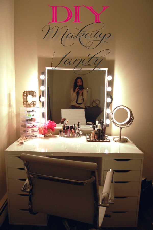 DIY Makeup Vanity Ideas for Bedroom