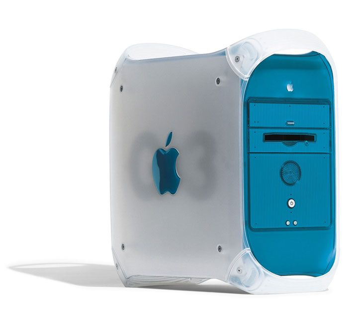 Power Macintosh G3 in Blue and White