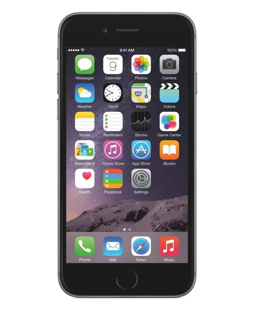 iOS 8 - iPhone 6