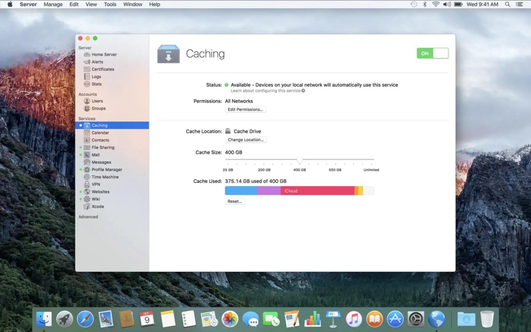 macOS Server 5.0