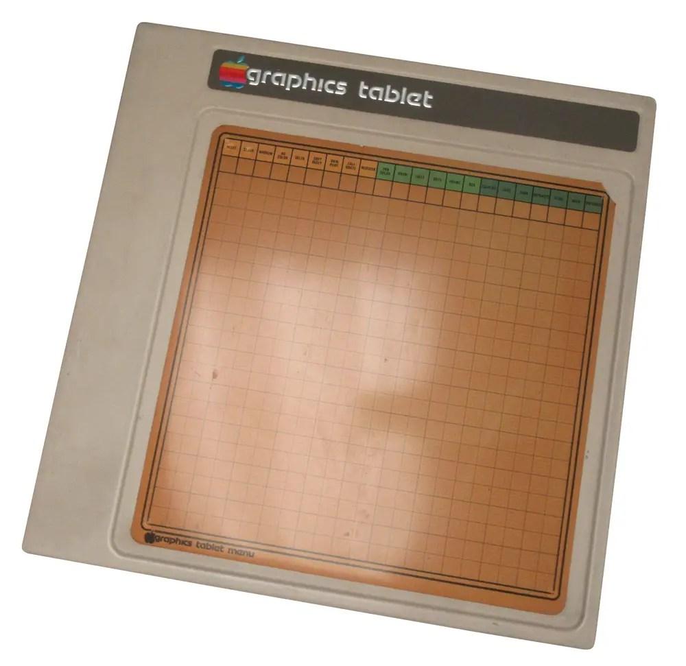 Apple Graphics Tablet