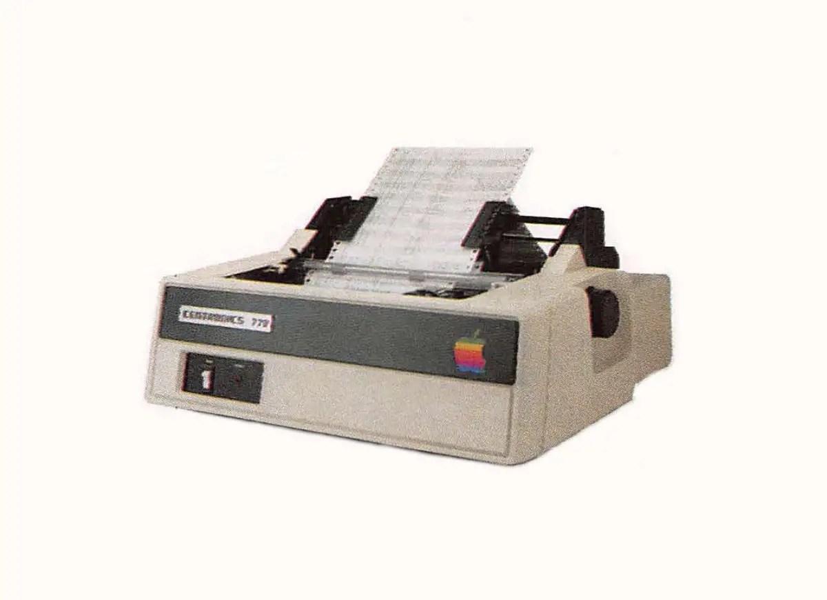 Apple Printer IIA