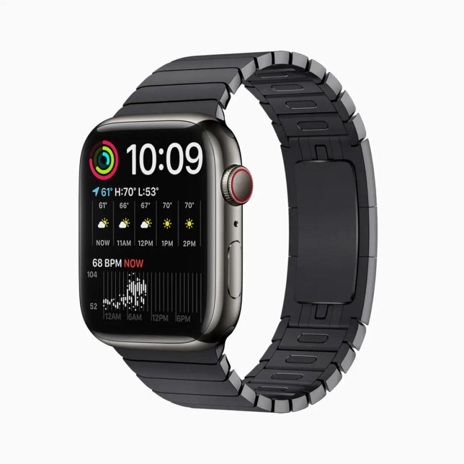 Apple Watch Series 7 Graphite Stainless Steel