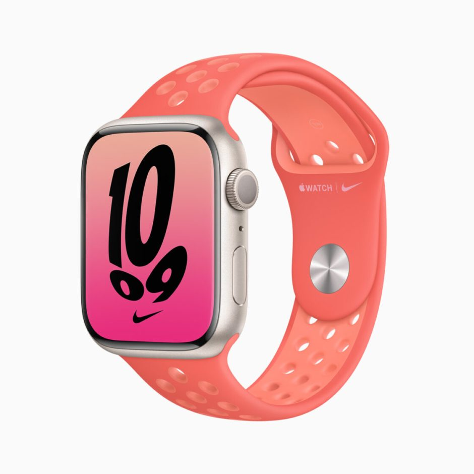 Apple Watch Series 7 Silver Nike+