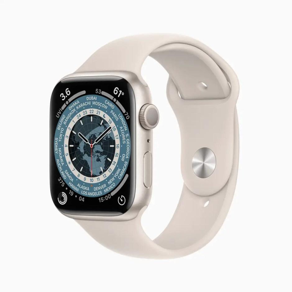 Apple Watch Series 7 Starlight Aluminium