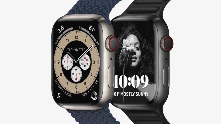 Apple Watch Series 7 Titanium Colors