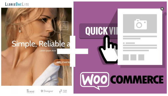 Woocommerce and Llorix one lite