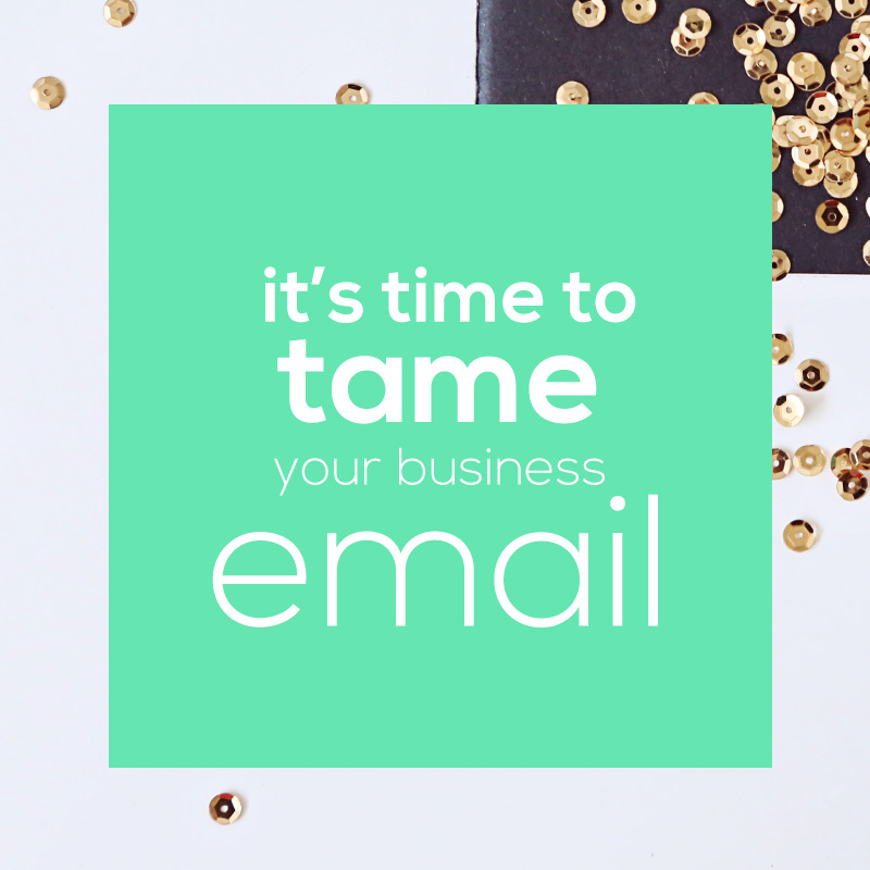 tame your email blogpost