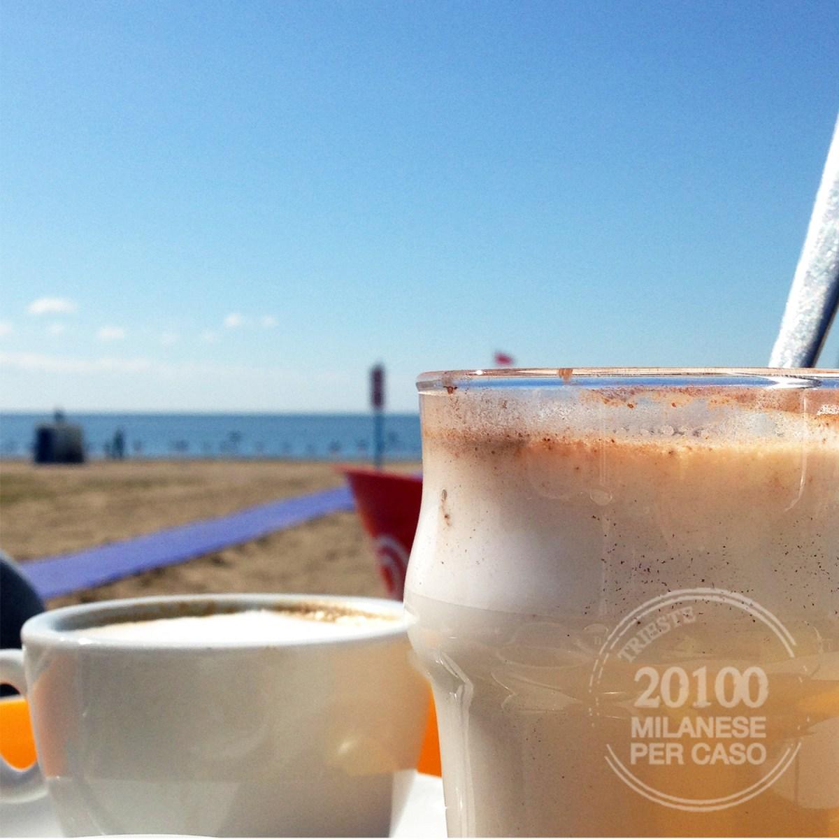 Colazione in riva al mare  Milanese per caso
