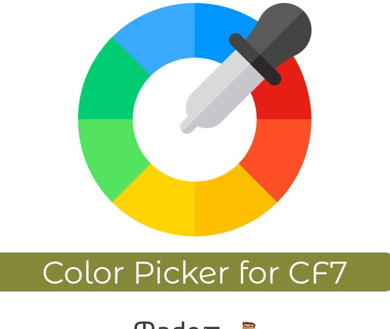 Color Picker for Contact Form 7