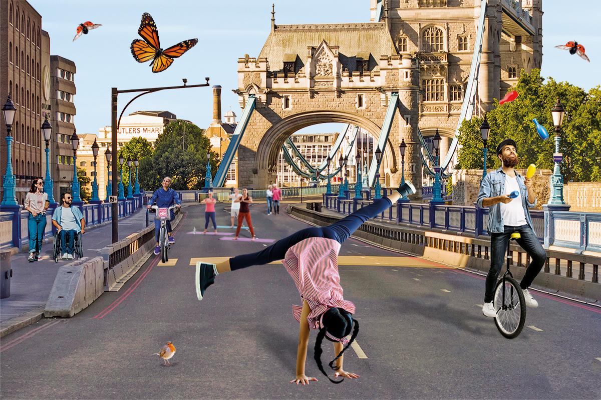 Reimagine Car Free Day banner