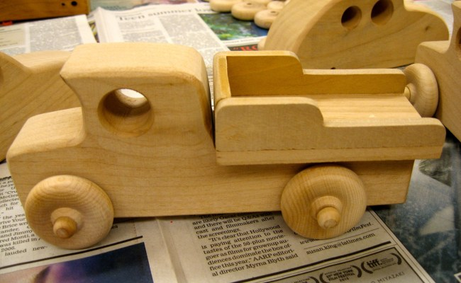 Making Wooden Toy Cars For Charity Made By Alan