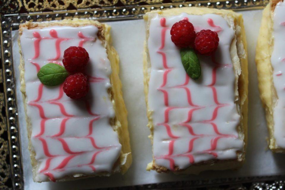 Napoleons kakestykker med dekor