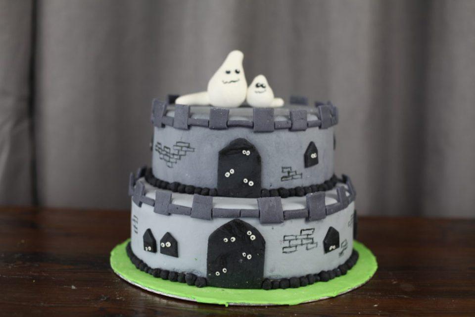 Spøkelse slott kake